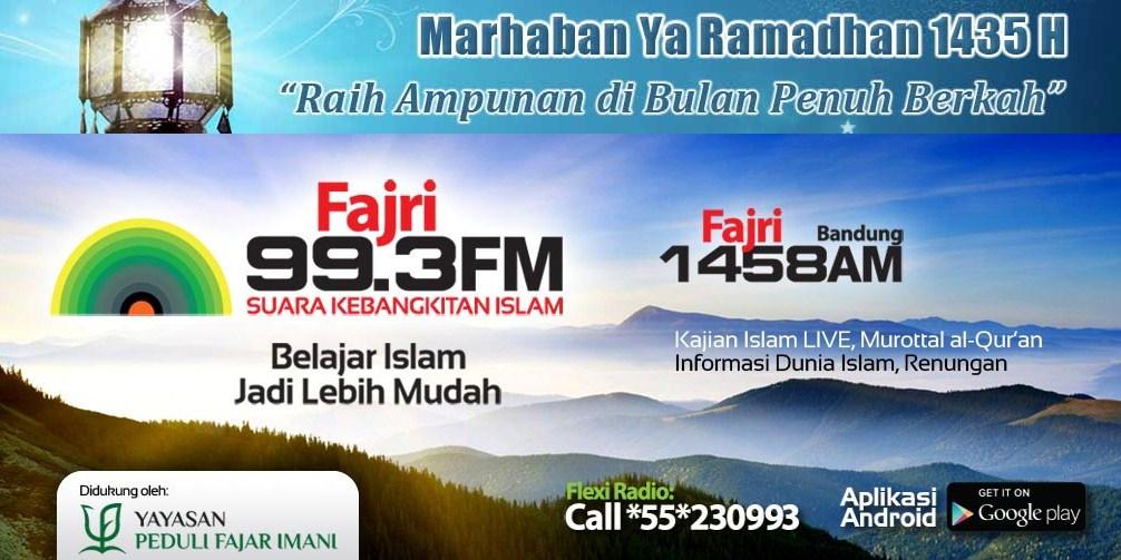 fajri fm suara kebangkitan islam